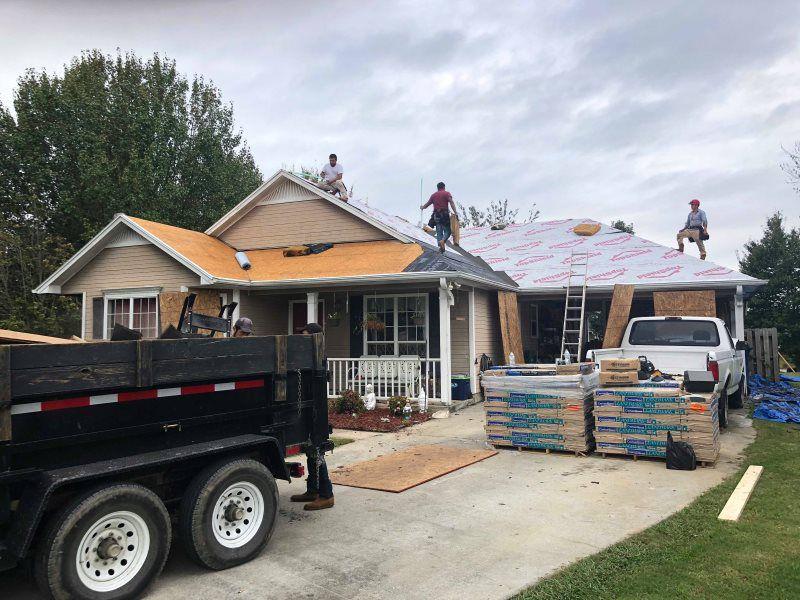 Storm Damage Restoration in Birmingham, AL