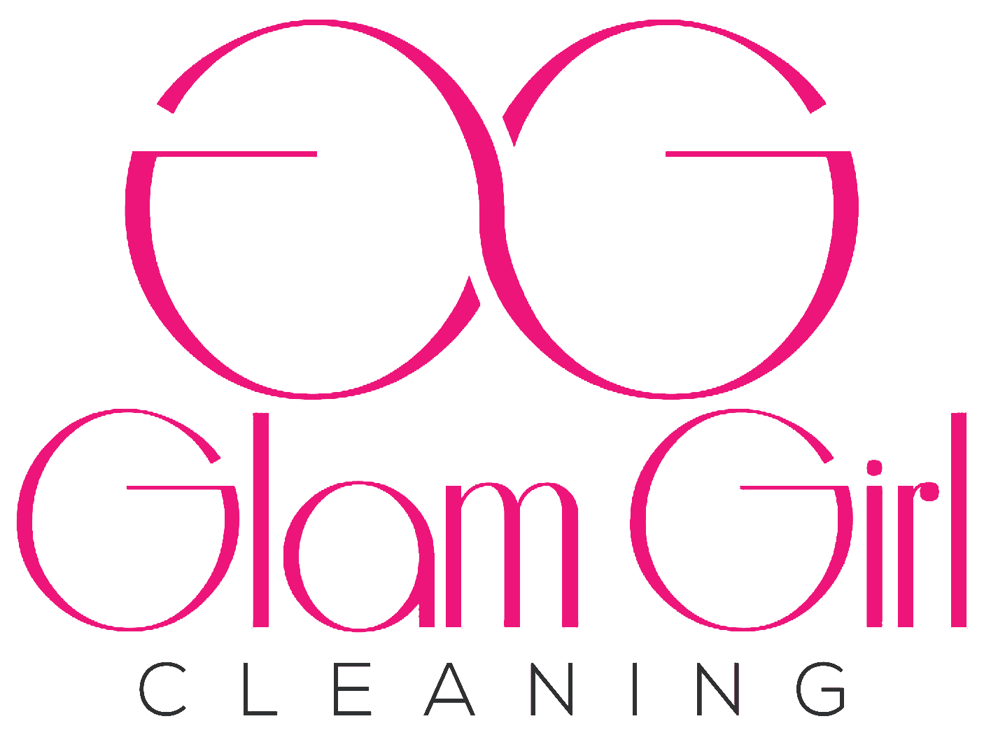 Glam Girl Cleaning Logo