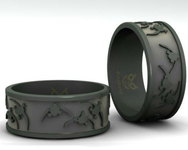 duck call bands custom duck rings engagement wedding