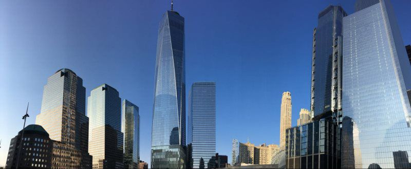 World Trade Center Downtown Manhattan NYC