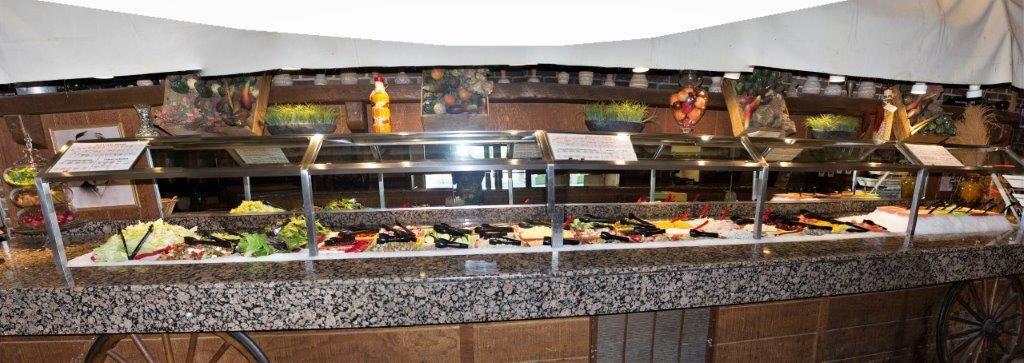 Peachy 28 Foot Long Salad Produce Bar Prospectors Steakhouse Beutiful Home Inspiration Truamahrainfo