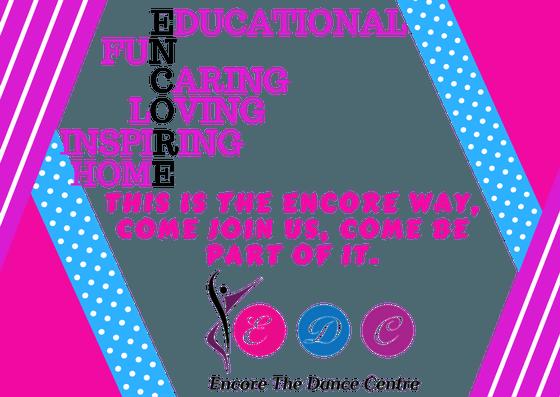 676985f56 Home - Encore The Dance Centre