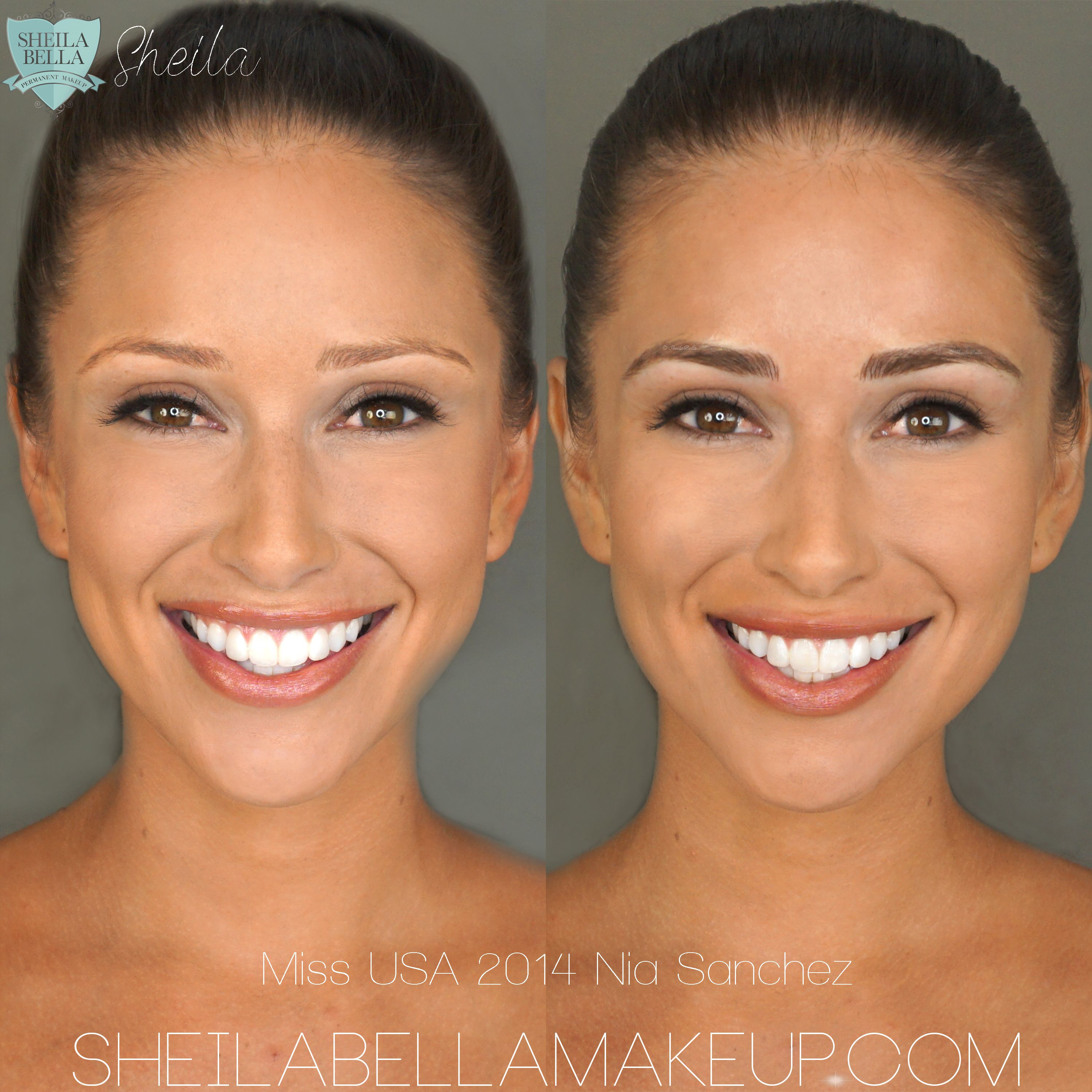 brows gallery - sheila bella permanent makeup