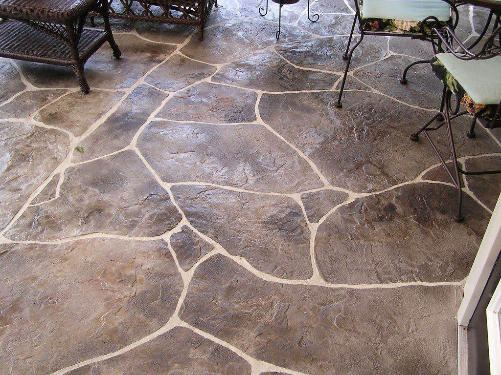 Concrete patio flooring ideas