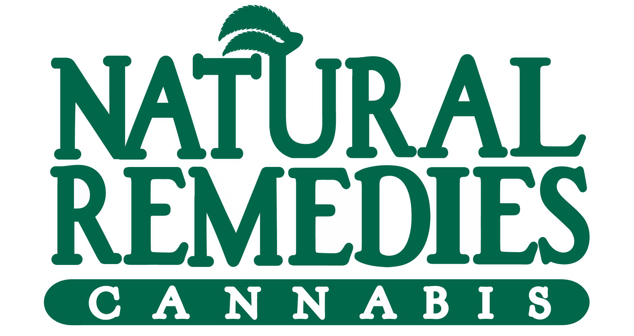 natural remedies cannabis logo