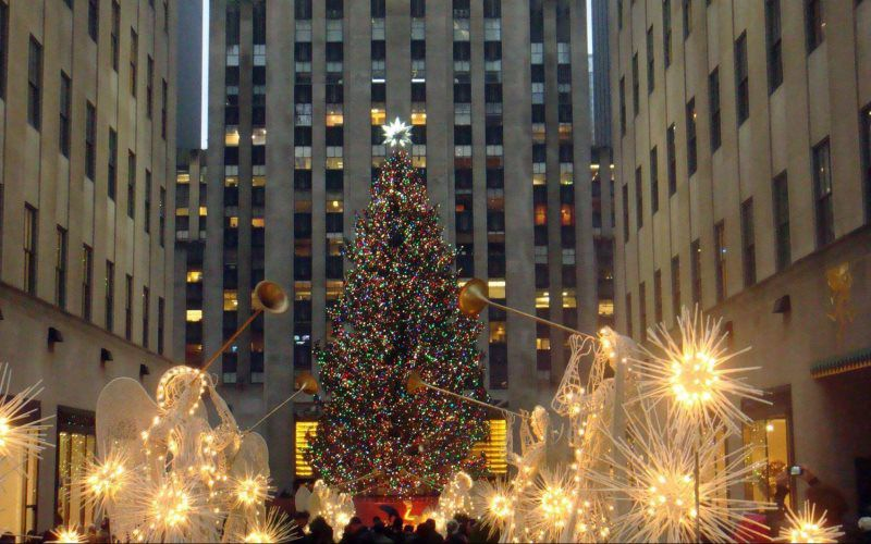 Rockafeller Center Christmas Tree NYC