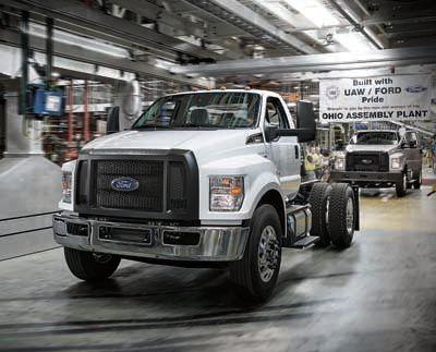 View work truck inventory
