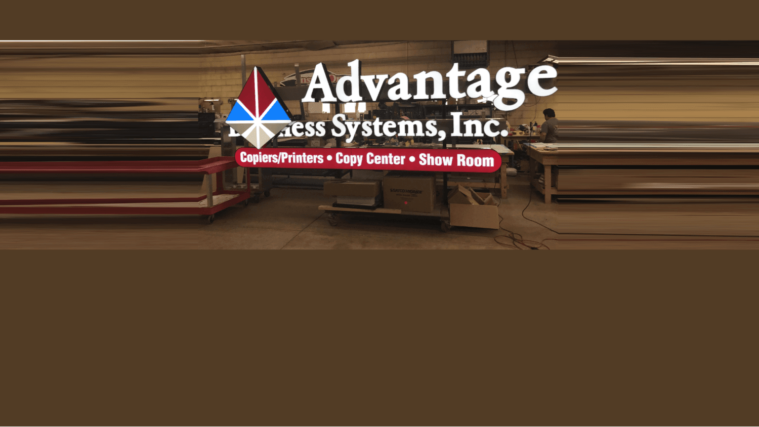 Advantage Systems, Inc. Signs