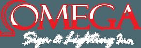 Omega Sign and lighting Logo