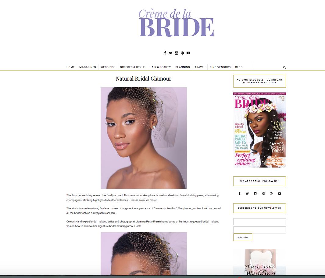 CREME DE BRIDE SPREAD