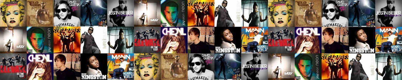 Discography Pop, R&B, Hip Hop And Gospel