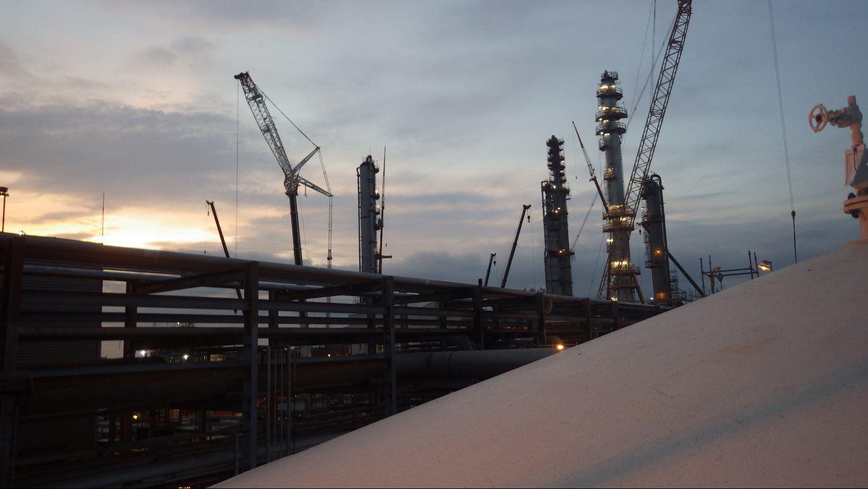 crane towers