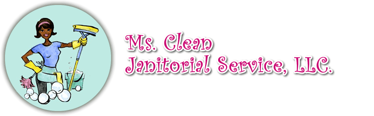 ms. clean janitorial service llc logo