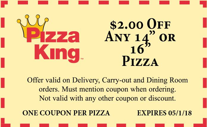 claras pizza king fort wayne coupons