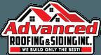 advanced roofing & siding inc logo